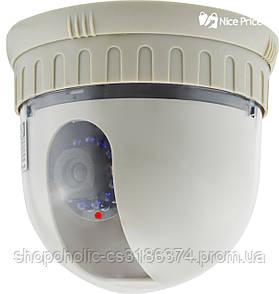 Поворотная купольная камера видеонаблюдения Delta STK-601P SONY DC-5.5 CCD 600TLV PAL