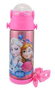 Термос детский с поилкой Disney 603 350 мл Frozen #2