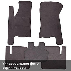 Ворсовые коврики для FAW Besturn B50 Текстильные в салон авто (серые) (StingrayUA.)
