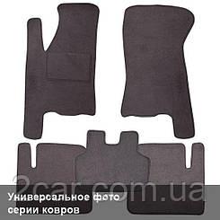 Ворсовые коврики для Smart ForTwo (1998-2000) Текстильные в салон авто (серые) (StingrayUA.)