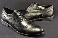 Мужские модельные туфли под брюки натуральная кожа
