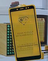 Защитное стекло Full glue (5D) Xiaomi Redmi Note 5 Pro / Note 5  (Black)