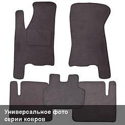 Ворсовые коврики для Iran Khodro Samand (2002-) Текстильные в салон авто (серые) (StingrayUA.)