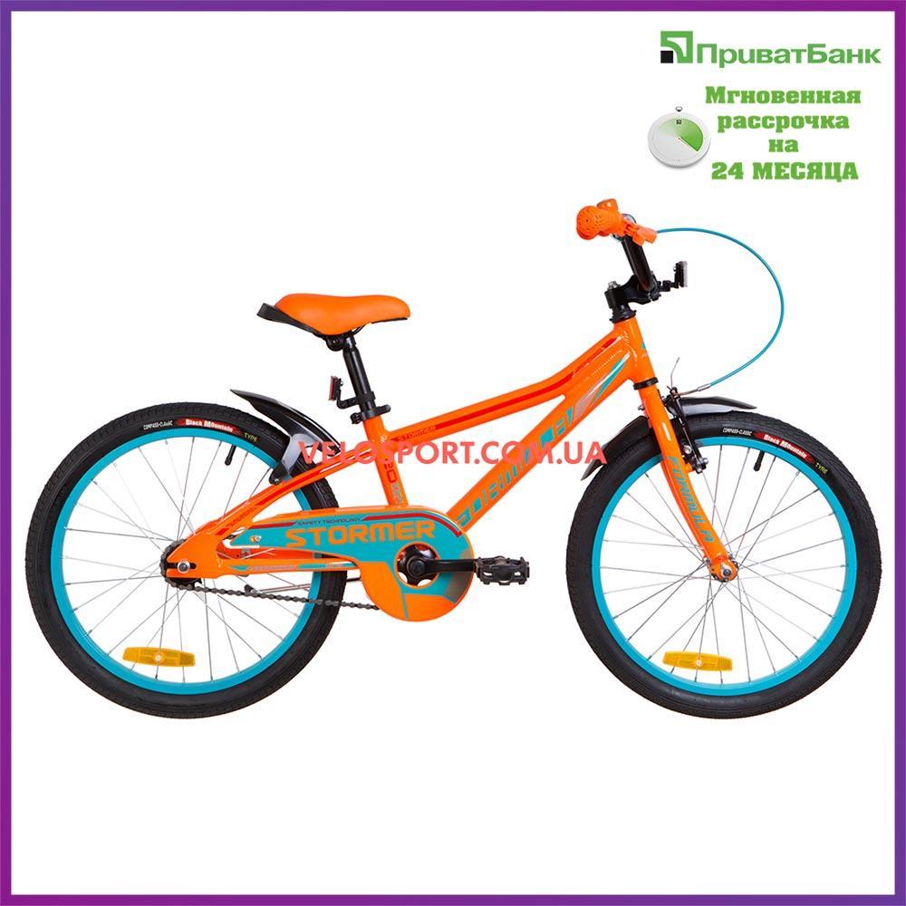 Детский велосипед Formula Stormer 20 дюймов оранжевый