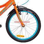 Детский велосипед Formula Stormer 20 дюймов оранжевый, фото 4