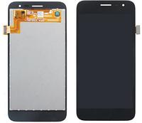 Дисплей (экран) для Samsung J260 Galaxy J2 Core + тачскрин, черный, оригинал
