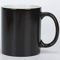 Чашка сублимационная хамелеон глянец ЧЕРНАЯ