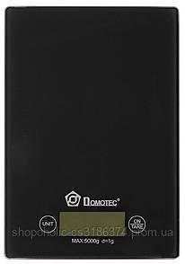 Электронные кухонные весы Domotec MS-912 до 5 кг Black