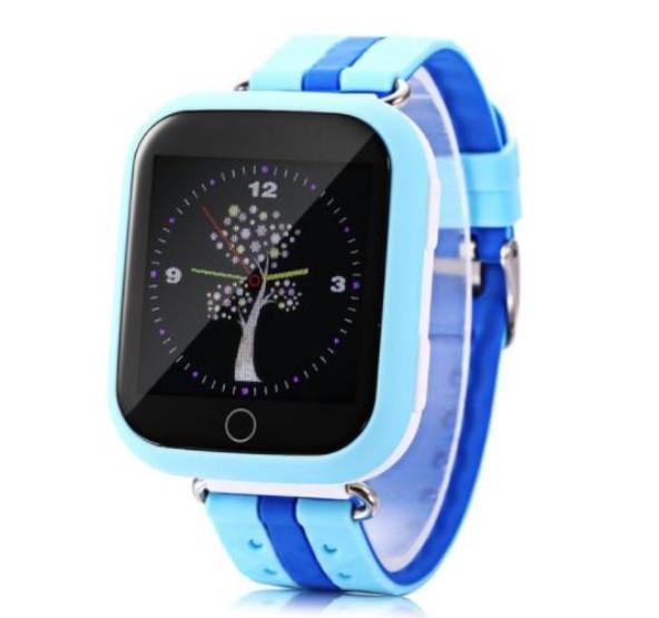 Детские Умные часы с GPS Q100S голубые