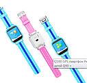 Детские Умные часы с GPS Q100S голубые, фото 3