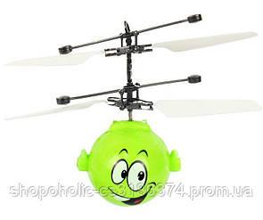 Летающий мяч шар Mini Flyer Heros Emodji