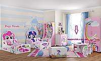 Детская комната Little Pony спальня гарнитур комплект детской мебели