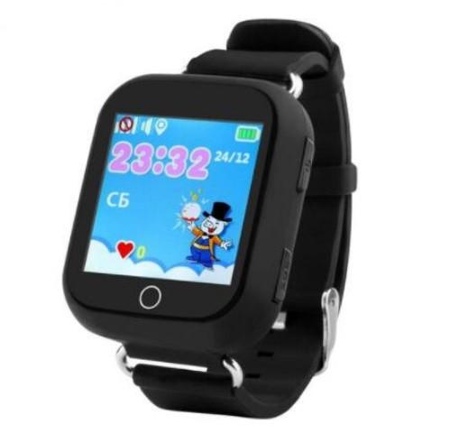 Детские Умные часы с GPS Q100S черные