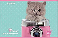 Альбом для рисования Kite A4 24л Studio Pets скоба sp19-242
