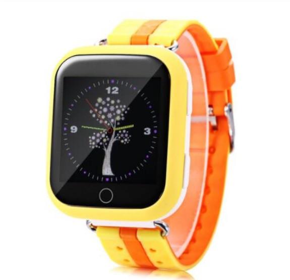 Детские Умные часы с GPS Q100S желтые