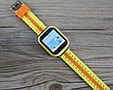Детские Умные часы с GPS Q100S желтые, фото 2