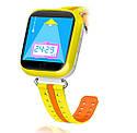 Детские Умные часы с GPS Q100S желтые, фото 3
