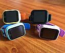 Детские Умные часы с GPS Q100S желтые, фото 4