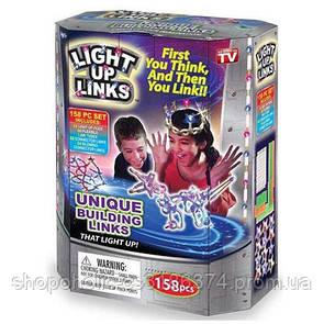 Светящийся конструктор Light Up Links 158pcs