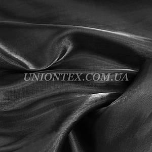 Ткань органза черная