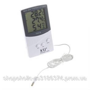 Термогигрометр KTJ ТА-318 с выносным датчиком