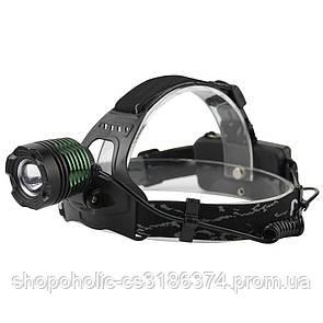 Налобный фонарик BL POLICE 2188B T6 (2 зарядных, 2 аккумулятора)