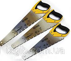 Ножовка по дереву HT-Tools Caiman 500мм 7TPI зуб 3D каленный зуб