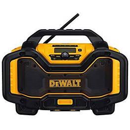 Строительное радио DeWALT DCR025 с Bluetooth и ЗУ 18/20В Li деволт