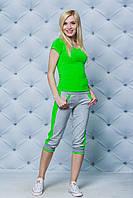 Женский летний спортивный костюм (3 цвета), фото 1