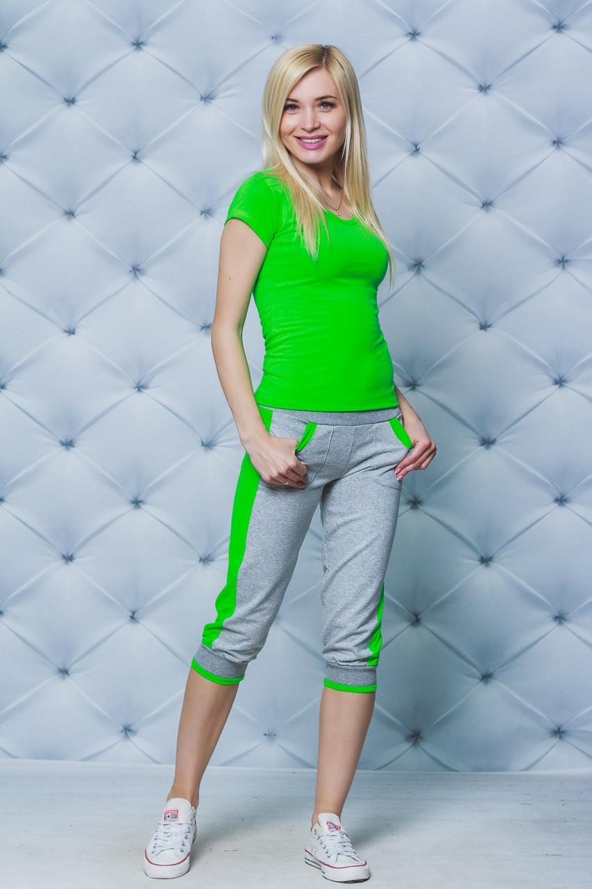 Женский летний спортивный костюм (3 цвета)