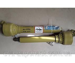 Кардан навісного обладнання 6*6 шлицов довжина 750 шліцьове з'єднання