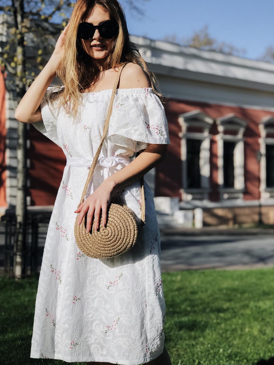 Летнее платье Вышивка 4043