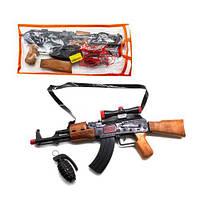 """Автомат-трещетка """"AK-47"""" с гранатой 810"""
