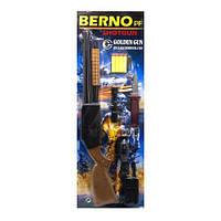 """Игрушечный дробовик """"Berno"""" с мягкими патронами и аксессуарами 920"""