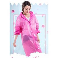 Дождевик, модный дождевой плащ, вариант рукав и воротник,расцветки