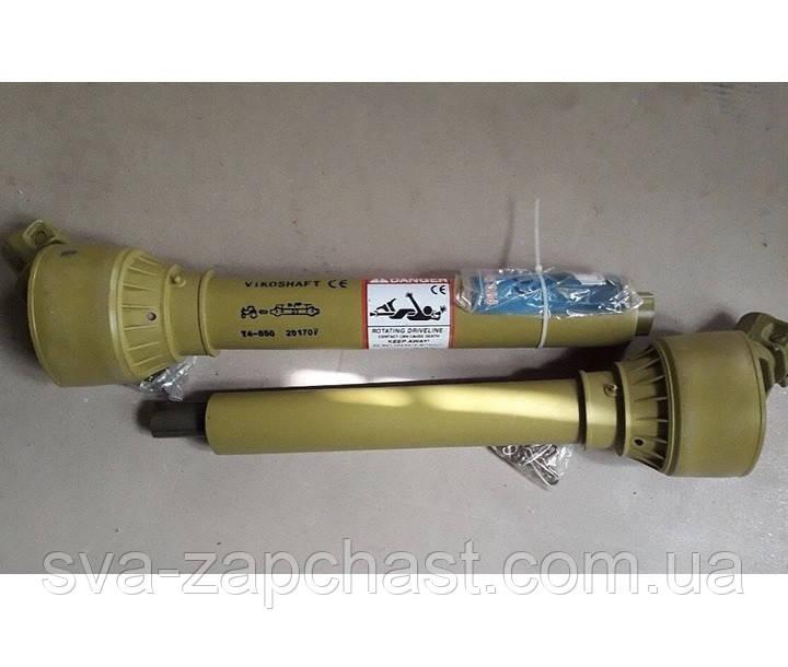 Кардан навесного оборудования 6*8 шлицов длина 1000*1500 трубчатое соединение