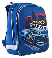 """Рюкзак шкільний, каркасний H-12 """"Nitro Speed""""                                             , фото 1"""