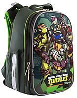 """Рюкзак шкільний, каркасний H-25 """"Tmnt""""                                                    , фото 1"""