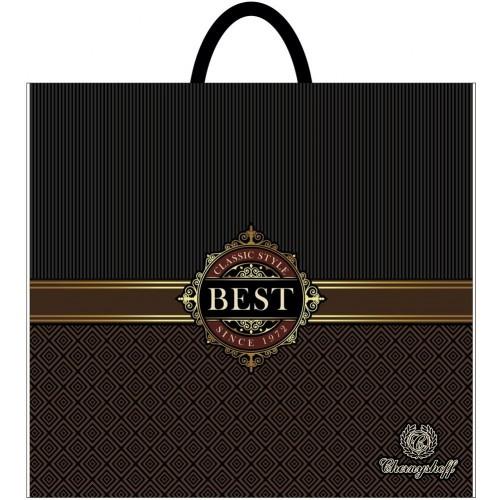 Полиэтиленовый пакет с пластиковой ручкой (сумка) ''Бест'' 380*340, 10 шт