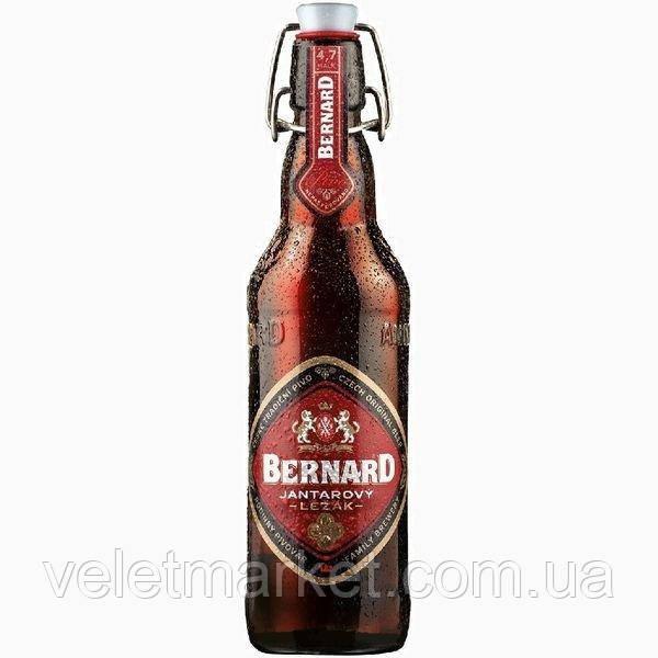 Чешское пиво Бернард Янтарный Лежак (Bernard Jantarový ležák) 0,5 л