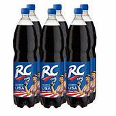 Упаковка безалкогольного напитка RC  1.5 л x 6 шт