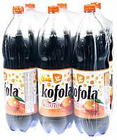 Упаковка безалкогольного напою Kofola Mandarinka 2 л x 6 шт