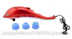 Ручной вибромассажер Дельфин большой массажер Red