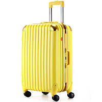 Малый чемодан Ambassador Hardcase A8524 Жёлтый