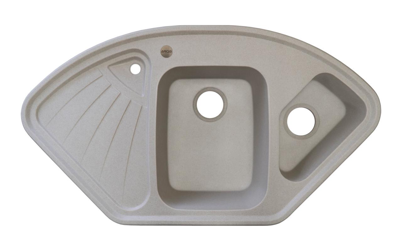 Гранітна плита, мийка Argo TRAPEZIO (106*57) Авена