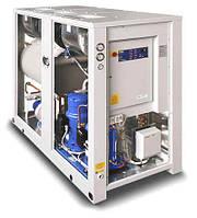Промышленный чиллер б/у 31кВт Hitema ECC.030/CHP.TR.CSF с центробежными вентиляторами