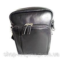 Мужская кожаная сумка А2 leather fleet 23х20х5 см