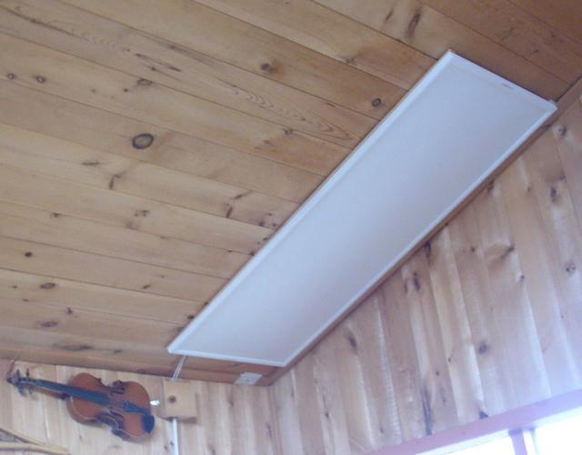 Инфракрасные тепловые панели потолочные