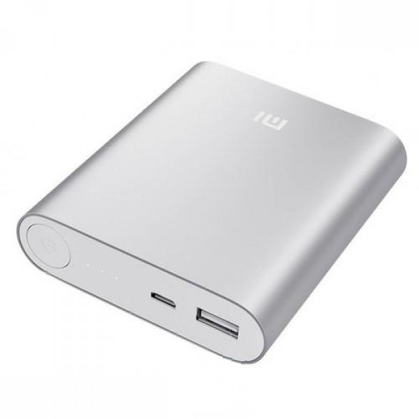 Аккумулятор Xiaomi Mi Power Bank 10400 mAh Серебристый