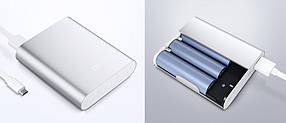 Аккумулятор Xiaomi Mi Power Bank 10400 mAh Серебристый, фото 2